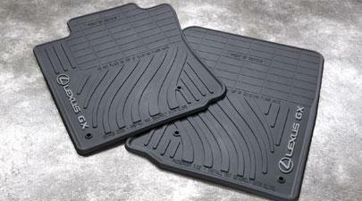 Black GENUINE 2010-2013 LEXUS GX460 All Weather Floor Mats Mat