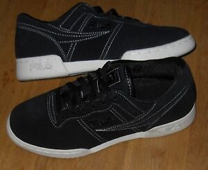d4ac5ed85a23 Image is loading Fila-Mens-OG-Fitness-TS-Black-Trainers-Size-