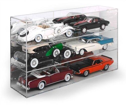 6. auto acryl - darbietung bei 1   18 modellen von autoworld awdc015