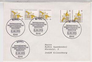 BUND-Mi-1687-MeF-FDC-Bonn-12-8-93