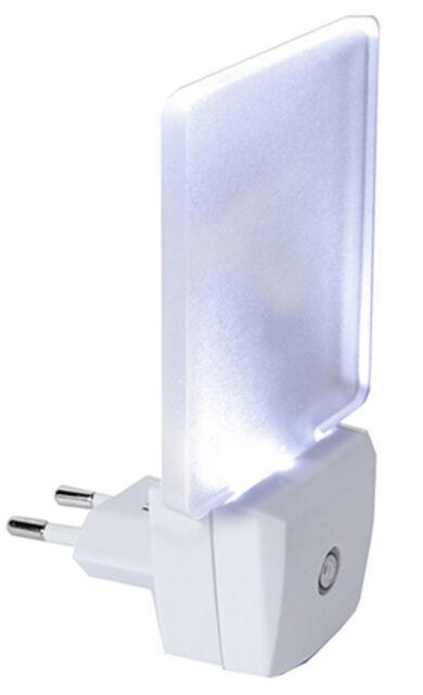 LED Nachtlicht mit Sensor Nachtlampe Orientierungslicht Notlicht für Steckdose
