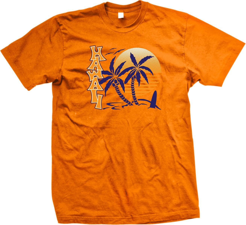 Aloha Palm Trees Sunset Hawaiian Pride Vacation Life Beaches Long Sleeve Thermal