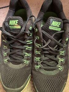 fertilizante Lógicamente satisfacción  Men's Nike Lunarglide 4 dynamic Support shoe size 9.5 black with green |  eBay