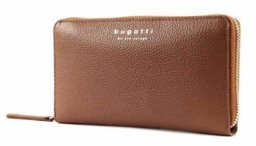 Geldbörse Bugatti Around Braun Wallet Linda Zip Neu Cognac ZWSWqfAna
