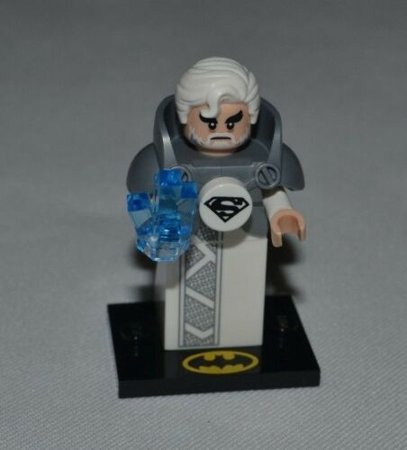 JOR-EL SUPERMAN DAD LOOSE # 71020 FREE SHIPPING LEGO THE BATMAN MOVIE SERIES 2