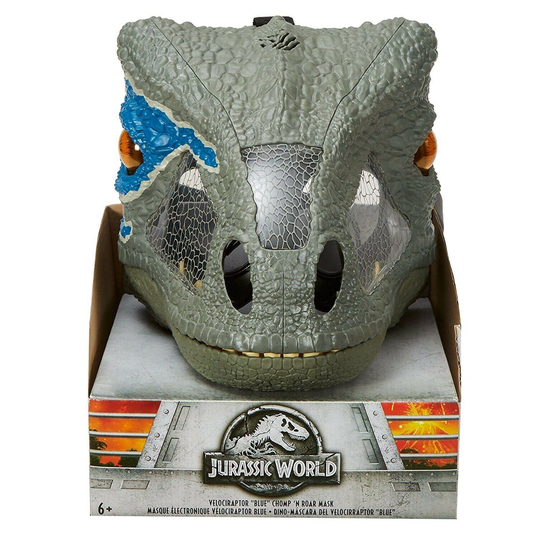 Jurassic World Ftuttien redom Velociraptor blu Deluxe Mask [Chomp 'N Roar]