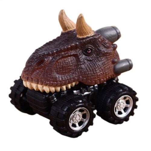 Mini Dinosaur Toy Car Model Pull Back Cars Wheel Truck Boys Toys Children Gift