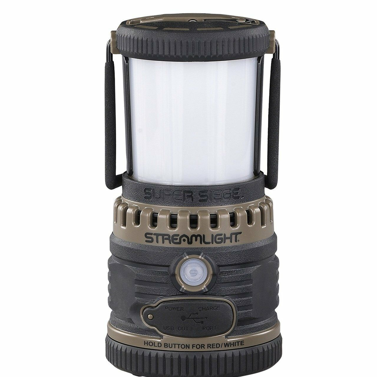 Streamlight 44947 Super Siege 120V AC High PoweROT Lantern - - - Coyote eef18b