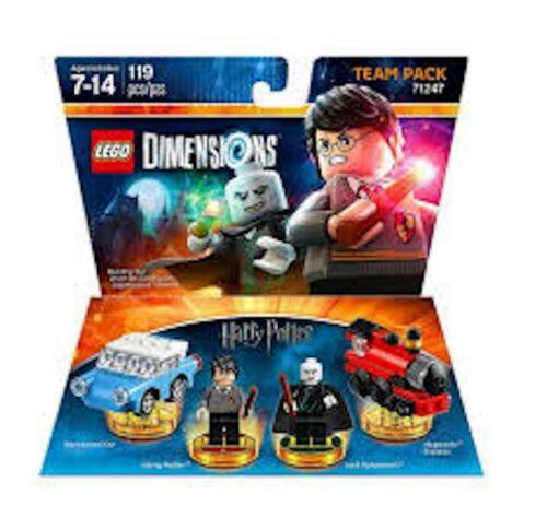 NEW SEALED LEGO DIMENSIONS HARRY POTTER 71247 HOGWARTS TRAIN 2 MINIFIGURES 9//10
