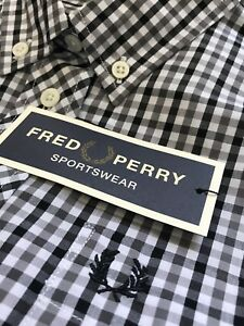 8 Gingham Ladies Classic Perry Uk Shirt Bnwt Fred A453RqjL