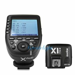 Godox-XPro-C-2-4G-E-TTL-Wireless-Flash-Trigger-X1R-C-Receiver-For-Canon-EOS