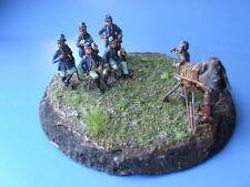 US-Offiziere in Fotopose,mit Fotografen, Amerik. Bürgerkrieg, Maßstab - 1:72