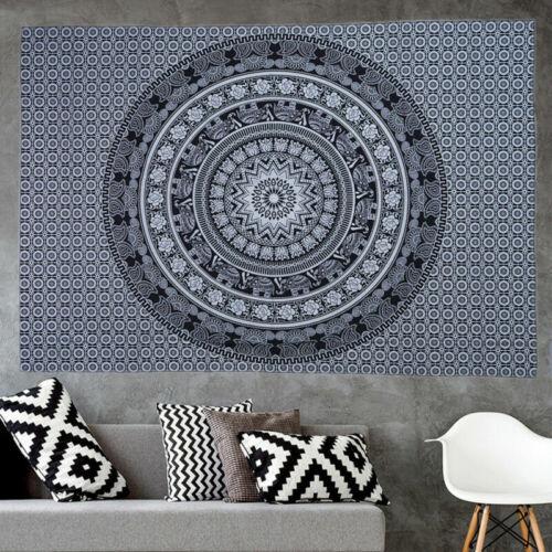 Indian Twin Hippie Mandala Tapestry Wall Hanging Throw Bohemian-Bedspread