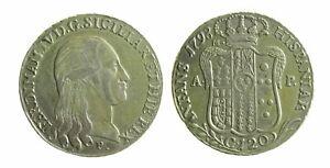 124) Napoli Ferdinando Iv (1759-1816) Piastra 1798