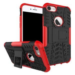 NUEVA-Carcasa-hibrida-2-piezas-exterior-rojo-para-Apple-iPhone-8-Y-7-4-7-FUNDA