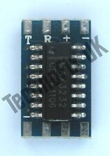 Mini RS232 to TTL level converter module (Raspberry Pi WRT54g PIC AVR Arduino)