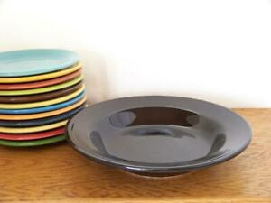 Fiesta-BLACK-9-034-Rim-Soup-Bowl