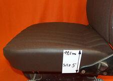 1 Sitzbezug Stoff braun, UNIMOG U1000- U2450 hinten abgespannt, Nr5, MB NG, SK