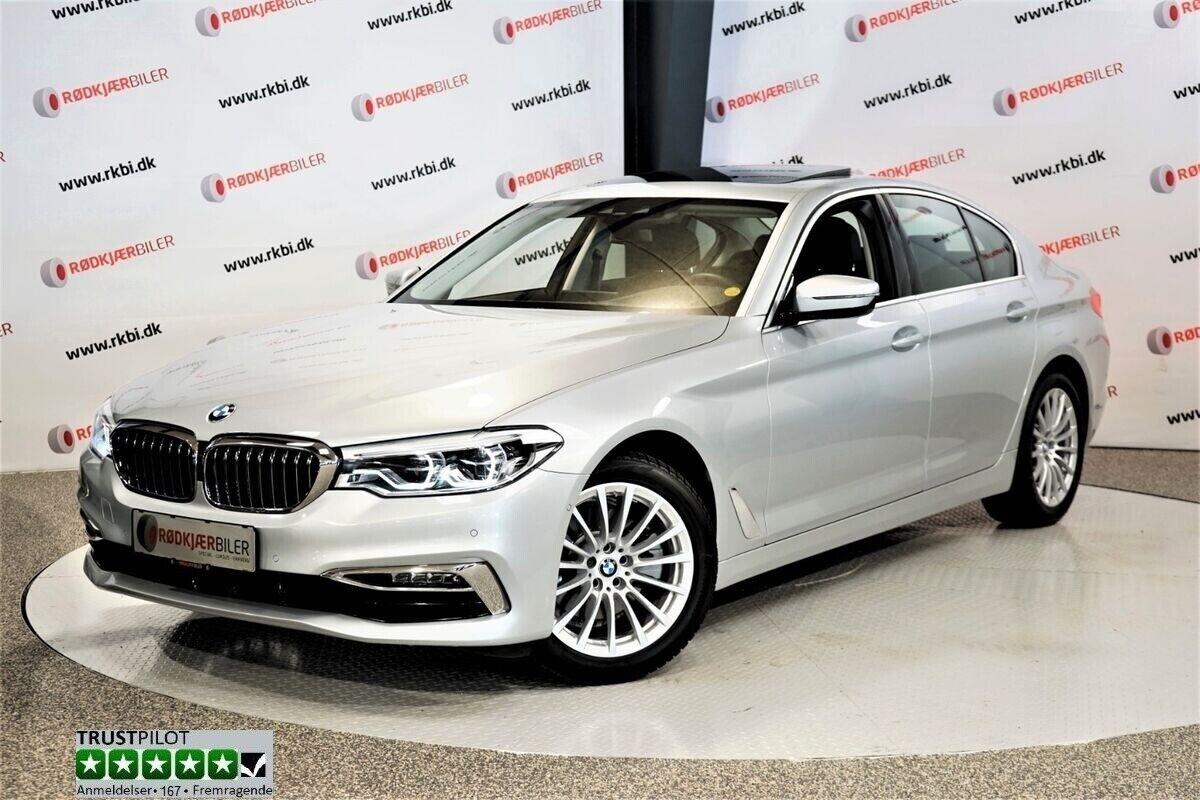 BMW 520d 2,0 aut. 4d - 559.900 kr.