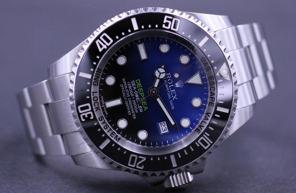 Rolex Deepsea Sea-Dweller D-Blue 116660, Dansk...