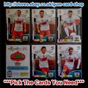 Panini-euro-2012-Adrenalyn-Xl-UK-equipos-P-a-la-Z-por-favor-elija-tarjetas