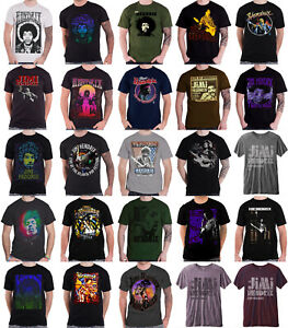 Officiel-Jimi-Hendrix-T-Shirt-Purple-Haze-Are-you-experienced-Logo-Homme-NEUF