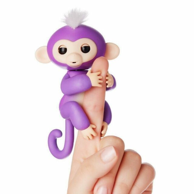 INTERACTIVE PET FINGER MONKEY FULL FUNCTION  REACTS TO TOUCH-SOUND+MORE NIB