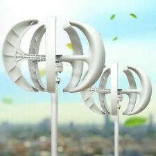 12 24v 5 Blades Vertical Wind Turbine Power Generator Lantern Shaped Home Use
