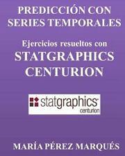 PREDICCION con SERIES TEMPORALES. Ejercicios Resueltos con STATGRAPHICS...