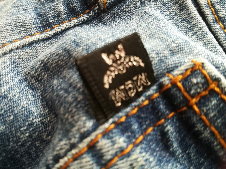 Designer Edel-Jeans von MCM Gr. 32 blau Denim made in . TOP