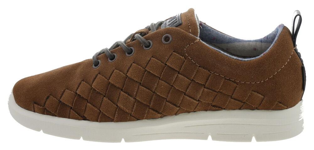 106078-1600 Vans Vn 0 Voahz 0 Tesella Sneaker Cuir Marron Eur 38,5