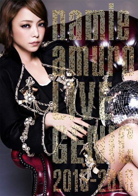Namie Amuro Live Genic 2015-2016 Limited Edition DVD Japan Avbn-99029