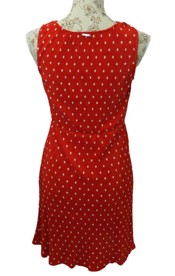 GUESS VESTITO ABITO ESTIVO Vanya DRESS DRESS DRESS per il tempo libero abito con colletto g015 e69bc7