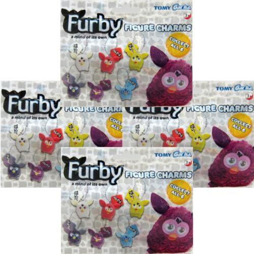 Furby Figurine Breloques 4 X Store Sacs Neuf Scellé