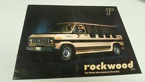 1983-FORD-ECONOLINE-VAN-ROCKWOOD-Sales-Brochure