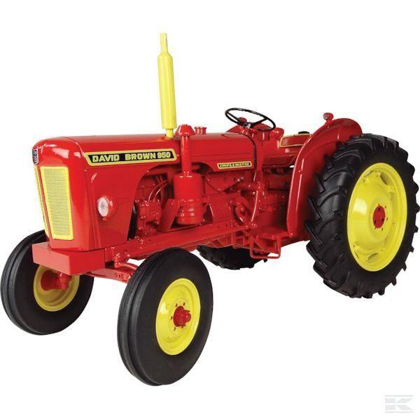 Universal Hobbies David Marrón 950 implematic Modelo Tractor Escala 116