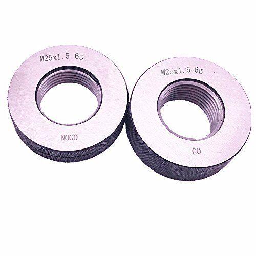 M25x1.5 M25 x 1.5 thread ring gage 6g GO NOGO 100/% calibrated ship by Fedex