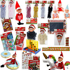 ELF GAMES ACCESSORIES PROPS CLOTHING PUT ON THE SHELF IDEAS JOKE CHRISTMAS DECOR