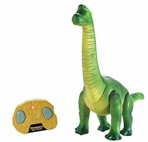Htuk Rc Commande à distance dinosaure promenades Roars Lumières Infra Radio Control marchant
