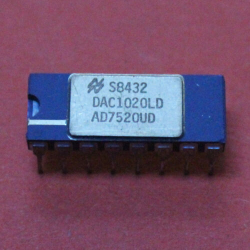 1 STK AD7520UD Analog Devices 10 Bit D//A Converter CDIP-16 1 pcs.