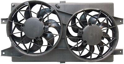 Fits 01-06 Stratus Sedan; Sebring Sedan Convertible Dual Cooling Fan Assembly