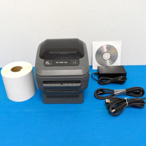 Zebra ZP450 ZP 450 Thermal Label Printer  Paypal UPS FedEx USPS Endicia,