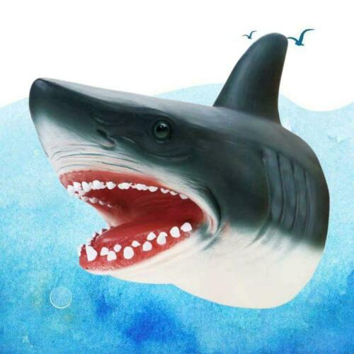 Children Shark Hand Puppet Story Animal Kids Toys Model Role Play Party Gifts 1x