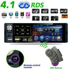 Car-Stereo-Radio-Single-1DIN-4-1inch-HD-MP5-FM-Player-Touch-Screen-Mirror-Link