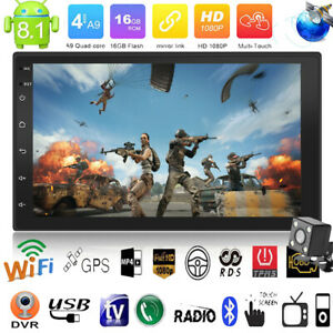 7-034-Android8-1-Autoradio-mit-Navigation-Navi-Bluetooth-MP5-WIFI-GPS-2-DOPPEL-DIN