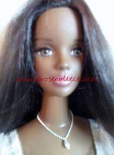 MATTEL original My Size Barbie~AA dark skin Princess~white & gold gown FREE SHIP