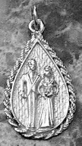 LOOK-Marriage-WEDDING-Charm-Bride-Groom-Sterling-silver-925-Jewelry-New