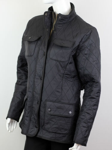 BARBOUR WOMEN'S BROWN QUILTED JACKET SIZE 14