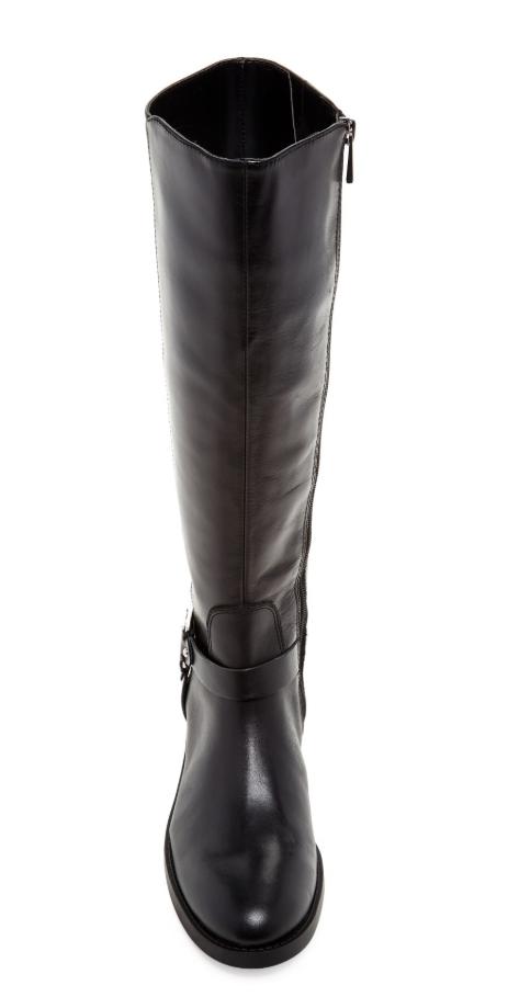 Vince Vince Vince Camuto Farren Women's Black Leather Riding Boot Sz 8 3091  a59a95