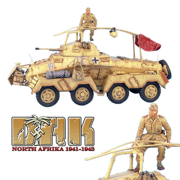 First Legion  DAK001 SdKfz 232 8 Rad Schwerer Panzerspahwagen